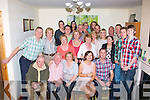Aisling Healy(Castle St Tralee)and Jonathon Foley(Clahane Tralee)seated right,celebrated their engagement last Saturday night with a cracking family party at their home with many friendsalso.
