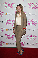 HOLLYWOOD, CA - February 12: Petra Bryant, at Premiere Of Vision Films' 'For The Love Of George' at TCL Chinese 6 Theatres in Hollywood, California on February 12, 2018. Credit: Faye Sadou/MediaPunch