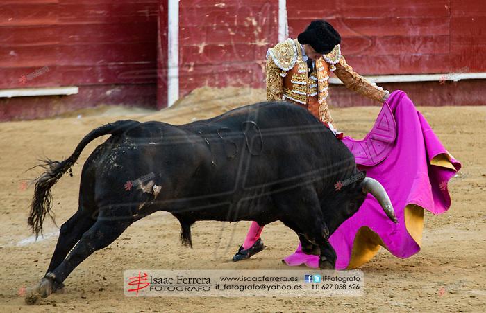 Feria de Fallas 2017.<br /> Corrida de Toros.<br /> Enrique Ponce - Cayetano - Gines Marin.<br /> Toros de Juan Pedro Domecq.<br /> Valencia, Valencia (Spain).<br /> 18 de marzo de 2017.