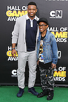 SANTA MONICA, CA, USA - FEBRUARY 15: Randall Cobb at the 4th Annual Cartoon Network Hall Of Game Awards held at Barker Hangar on February 15, 2014 in Santa Monica, California, United States. (Photo by David Acosta/Celebrity Monitor)