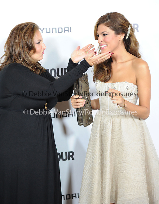Eva Mendes and Kathy Najimy at The Glamour Reel Moments Presented by Hyundai , the Series of Short Films Written and Directed by Women in Hollywood held at The Directors Guild of America in West Hollywood, California on October 25,2010                                                                               © 2010 Hollywood Press Agency