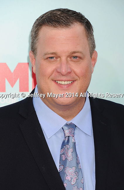 HOLLYWOOD, CA- JUNE 30: Actor Billy Gardell arrives at the 'Tammy' - Los Angeles Premiere at TCL Chinese Theatre on June 30, 2014 in Hollywood, California.
