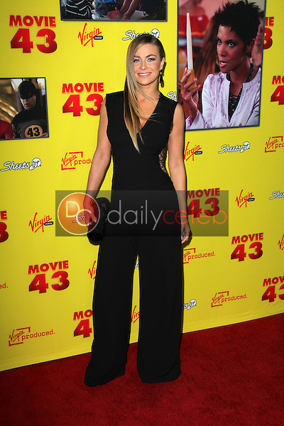 Carmen Electra<br /> at the &quot;Movie 43&quot; Los Angeles Premiere, Chinese Theater, Hollywood, CA 01-23-13<br /> David Edwards/DailyCeleb.com 818-249-4998