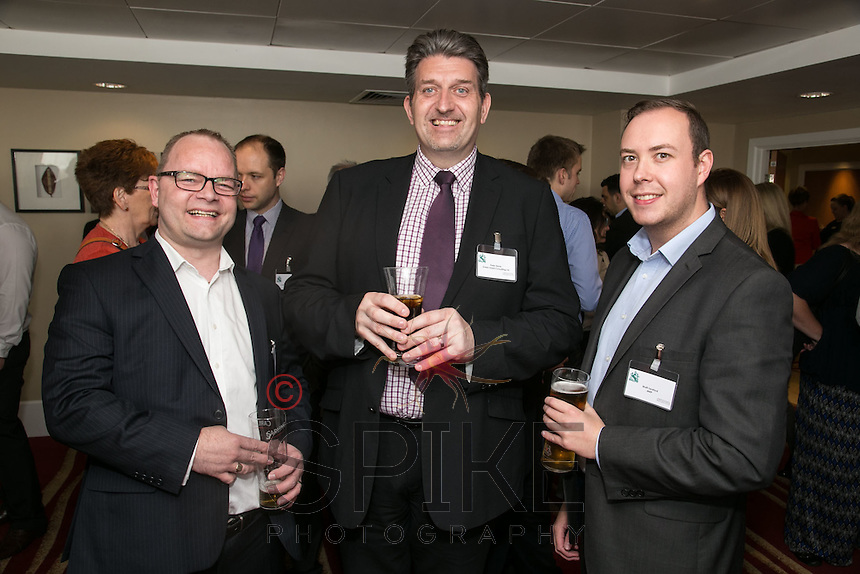 Terry Ellis of H22 Solutions, Peter Storer of Green Giant Consulting and Matt Seaford of MRP