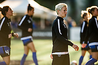 Seattle, WA - April 15th, 2017: Megan Rapinoe during a regular season National Women's Soccer League (NWSL) match between the Seattle Reign FC and Sky Blue FC at Memorial Stadium.