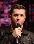 Travis Wall performing in the 'BARE' A first look preview at the New World Stages in New York City on 11/12/2012
