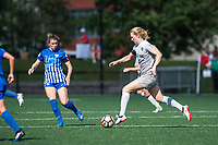 Boston, MA - Saturday June 24, 2017: Samantha Mewis during a regular season National Women's Soccer League (NWSL) match between the Boston Breakers and the North Carolina Courage at Jordan Field.