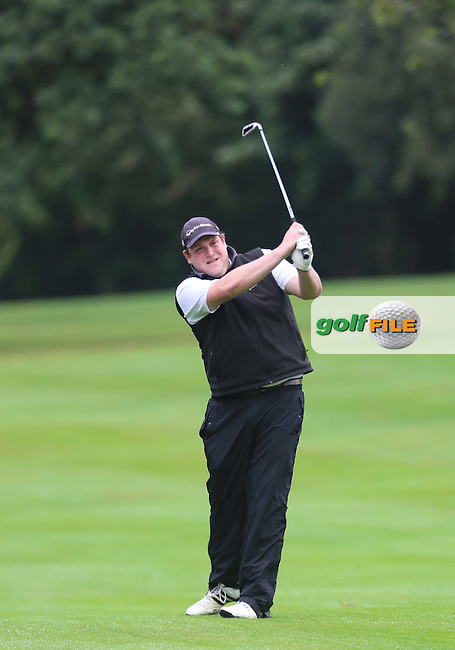 Peter Doherty (Strabane) during the Ulster Mixed Foursomes Final, Shandon Park Golf Club, Belfast. 19/08/2016<br /> <br /> Picture Jenny Matthews / Golffile.ie<br /> <br /> All photo usage must carry mandatory copyright credit (&copy; Golffile | Jenny Matthews)