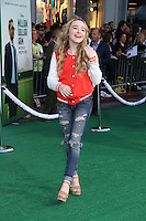 HOLLYWOOD, CA - MAY 6:  Sabrina Carpenter at the Premiere Of Disney's 'Million Dollar Arm'  on May 6, 2014 at El Capitan Theatre in Hollywood, California. Credit: SP1/Starlitepics /nortephoto.com