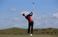 Tom Trowbridge during Round Two of the West of England Championship 2016, at Royal North Devon Golf Club, Westward Ho!, Devon  23/04/2016. Picture: Golffile | David Lloyd<br /> <br /> All photos usage must carry mandatory copyright credit (&copy; Golffile | David Lloyd)