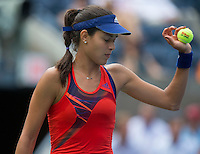 Ana Ivanovic<br /> Tennis - US Open  - Grand Slam -  Flushing Meadows  2013 -  New York - USA - United States of America - Tuesday 3rd September 2013. <br /> &copy; AMN Images, 8 Cedar Court, Somerset Road, London, SW19 5HU<br /> Tel - +44 7843383012<br /> mfrey@advantagemedianet.com<br /> www.amnimages.photoshelter.com<br /> www.advantagemedianet.com<br /> www.tennishead.net