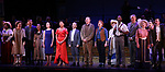 "Nancy Opel, Tam Mutu, Alexandra Socha, Bebe Neuwirth, Vanessa Williams,  Joel Grey, Bob Martin, Carolee Carmello, Clifton Duncan and Douglas Sills during the final performance curtain call for the New York City Center Encores! at 25 production of  ""Hey, Look Me Over!"" on February 11, 2018 at the City Center Theatre in New York City."
