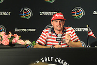 Keegan Bradley (USA) wins the tournament by 1 shot with a score of -13 at the end of Sunday's Final Round of the 2012 World Golf Championship Bridgestone Invitational at The Firestone Country Club, Akron, Ohio, USA 5th August 2012 (Photo Eoin Clarke/www.golffile.ie)