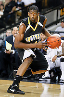 February 26, 2011: Southern Miss forward Gary Flowers (4) during first half mens Conference USA NCAA basketball game action between the Southern Miss Golden Eagles and the Central Florida Knights at the UCF Arena in Orlando, Fl..