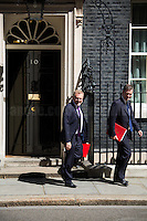 David Mundell MP (Secretary of State for Scotland) & David Gauke MP (Chief Secretary to the Treasury).<br />