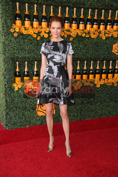 Darby Stanchfield<br /> at the Sixth-Annual Veuve Clicquot Polo Classic, Will Rogers State Historic Park, Pacific Palisades, CA 10-17-15<br /> David Edwards/Dailyceleb.com 818-249-4998