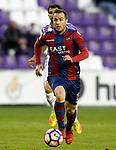 Levante UD's Paco Montanes during La Liga Second Division match. March 11,2017. (ALTERPHOTOS/Acero)