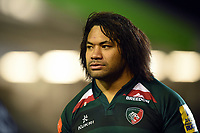 Tatafu Polota-Nau of Leicester Tigers looks on after the match. Aviva Premiership match, between Leicester Tigers and London Irish on January 6, 2018 at Welford Road in Leicester, England. Photo by: Patrick Khachfe / JMP