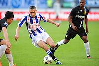 VOETBAL: HEERENVEEN: Abe Lenstra Stadion, SC Heerenveen - Vitesse, 21-01-2012, Oussama Assaidi (#22), Eindstand 1-1, ©foto Martin de Jong
