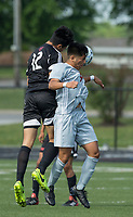 NWA Democrat-Gazette/BEN GOFF @NWABENGOFF<br /> Springdale vs Fort Smith Northside Saturday, May 12, 2018 during the semifinal match in the boys 7A state soccer tournament in Gates Stadium at Rogers Heritage.