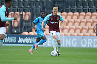 westhams anthony scully during Barnet vs West Ham United, Friendly Match Football at the Hive Stadium on 15th July 2017
