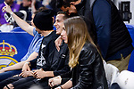Real Madrid's Lucas Vazquez during Turkish Airlines Euroleague match between Real Madrid and FC Barcelona Lassa at Wizink Center in Madrid, Spain. March 22, 2017. (ALTERPHOTOS/BorjaB.Hojas)