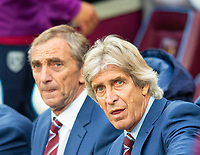 West Ham's manager Manuel Pellegrini during the Premier League match between West Ham United and Crystal Palace at the Olympic Park, London, England on 5 October 2019. Photo by Andrew Aleksiejczuk / PRiME Media Images.