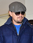 Leonardo DiCaprio, Jan 27, 2014 :  Tokyo, Japan : Actor Leonardo DiCaprio arrives at Tokyo International Airport in Tokyo, Japan, on January 27, 2014.