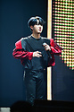 CORAL GABLES, FL - FEBRUARY 07: Felix, of South Korean Boy band Stray Kids performs on stage during Stray Kids World Tour 'District 9 : Unlock' in Miami at Watsco Center on February 7, 2020 in Coral Gables, Florida. ( Photo by Johnny Louis / jlnphotography.com )