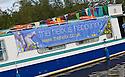 26/09/2010   Copyright  Pic : James Stewart.003_union_canal  .::  HELIX PROJECT ::  THE HELIX NARROW BOAT ON THE UNION CANAL AS IT TAKES PART IN THE 10 YEAR ANNIVERSARY CELEBRATIONS ::.