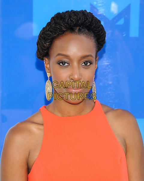 28 August 2016 - New York, New York - Franchesca Ramsey.  2016 MTV Video Music Awards at Madison Square Garden. <br /> CAP/ADM/MSA<br /> &copy;MSA/ADM/Capital Pictures