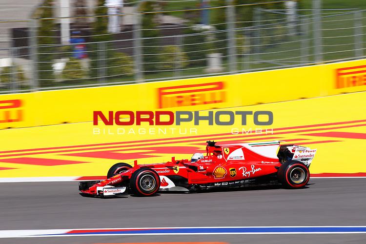28.04.2017, Sochi Autodrom, Sochi, FORMULA 1 VTB RUSSIAN GRAND PRIX,  28.04. - 30.04.2017<br /> Sebastian Vettel (GER#5), Scuderia Ferrari<br /> <br /> <br /> <br /> Foto &copy; nordphoto / Bratic