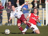 080217 West Ham Utd Ladies v Arsenal Ladies