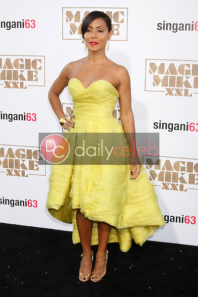 "Jada Pinkett Smith <br /> at the ""Magic Mike XXL"" Premiere, TCL Chinese Theater, Hollywood, CA 06-25-15<br /> David Edwards/DailyCeleb.com 818-249-4998"