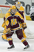 Kellen Briggs, Mike Vannelli - The University of Minnesota Golden Gophers defeated the University of North Dakota Fighting Sioux 4-3 on Friday, December 9, 2005, at Ralph Engelstad Arena in Grand Forks, North Dakota.