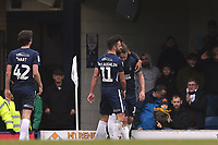 Simon Cox of Southend United is congratulated after scoring the third goal during Southend United vs Portsmouth, Sky Bet EFL League 1 Football at Roots Hall on 16th February 2019