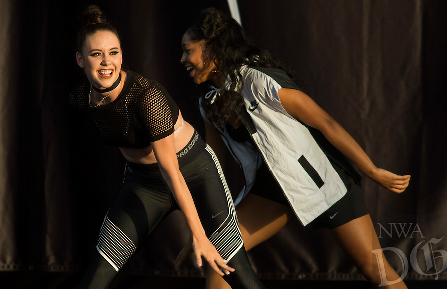 NWA Democrat-Gazette/JASON IVESTER<br /> Meghan Trainor Untouchable Tour concert at the Arkansas Music Pavilion on Tuesday, Aug. 2, 2016, in Rogers featuring Common Kings and Hailee Steinfeld