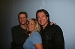 Guiding Light's David Andrew MacDonald - Kim Zimmer - Bradley Cole at the 5th Annual Rock show for charity to benefit the American Red Cross on October 9, 2009 at the American Red Cross Headquarters, New York City, New York. (Photos by Sue Coflin/Max Photos)