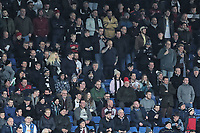 Swansea supporters during The Emirates FA Cup Fifth Round match between Sheffield Wednesday and Swansea City at Hillsborough, Sheffield, England, UK. Saturday 17 February 2018