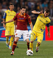 Calcio, Serie A: Roma vs Chievo Verona. Roma, stadio Olimpico, 7 maggio 2013..during the Italian Serie A football match between AS Roma and ChievoVerona at Rome's Olympic stadium, 7 May 2013..UPDATE IMAGES PRESS/Riccardo De Luca