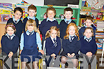 Aidan McVey, Simon O'Connor, Euan Buckley, Damien Buckley, Owen O'Dwyer, Siobhan Murphy, Lucy Galvin, Christina Murphy, Katie Riney and Emilia Zotolak who stared school in St Michaels National School in Sneem.   Copyright Kerry's Eye 2008