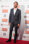 "Jose Manuel Poga attends to the premiere of the spanish film ""Toro"" at Kinepolis Cinemas in Madrid. April 20, 2016. (ALTERPHOTOS/Borja B.Hojas)"