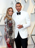 09 March 2018 - Music icon Jennifer Lopez and retired baseball star Alex Rodriguez are engaged after two years of dating. The couple then made their red carpet debut at the Met Gala in May 2017  and have inseparable since. 24 February 2019 - Hollywood, California - Jennifer Lopez, Alex Rodriguez. 91st Annual Academy Awards presented by the Academy of Motion Picture Arts and Sciences held at Hollywood & Highland Center. Photo Credit: AdMedia