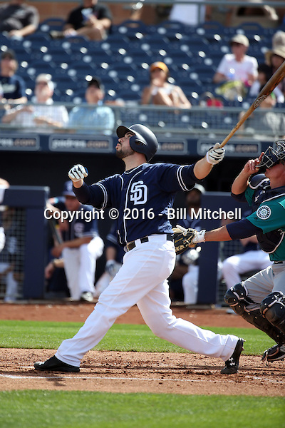 Austin Hedges - San Diego Padres 2016 spring training (Bill Mitchell)