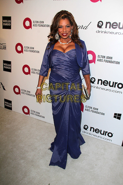 WEST HOLLYWOOD, CA - March 02: Rolonda Watts at the 22nd Annual Elton John AIDS Foundation Oscar Viewing Party, Private Location, West Hollywood,  March 02, 2014.  <br /> CAP/MPI/JO<br /> &copy;Janice Ogata/MediaPunch/Capital Pictures