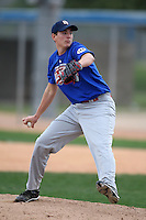 January 17, 2010:  Bryce Sablotny (Chatham, IL) of the Baseball Factory Great Lakes Team during the 2010 Under Armour Pre-Season All-America Tournament at Kino Sports Complex in Tucson, AZ.  Photo By Mike Janes/Four Seam Images