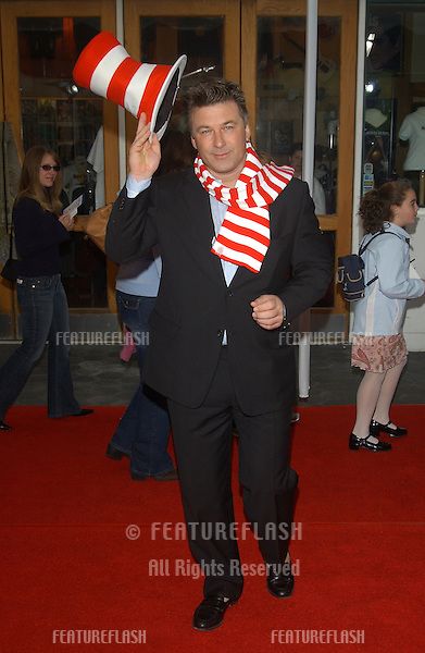 Actor ALEC BALDWIN at the world premiere, in Hollywood, of his new movie Dr. Suess' The Cat in the Hat..November 8, 2003