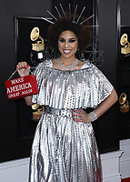 LOS ANGELES - FEBRUARY 10:  Joy Villa at the 61st Grammy Awards at Staples Center on February 10, 2019 in Los Angeles, California. (Photo by Xavier Collin/PictureGroup)