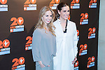 Genoveva Casanova and Raquel Sanchez-Silva during the photocall of the 20th anniversary of the Vicente Ferrer Foundation in Madrid. May 24, 2016. (ALTERPHOTOS/Borja B.Hojas)