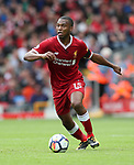 Liverpool's Daniel Sturridge in action during the premier league match at the Anfield Stadium, Liverpool. Picture date 19th August 2017. Picture credit should read: David Klein/Sportimage